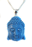 Blue Buddha in resin - Agabhumi