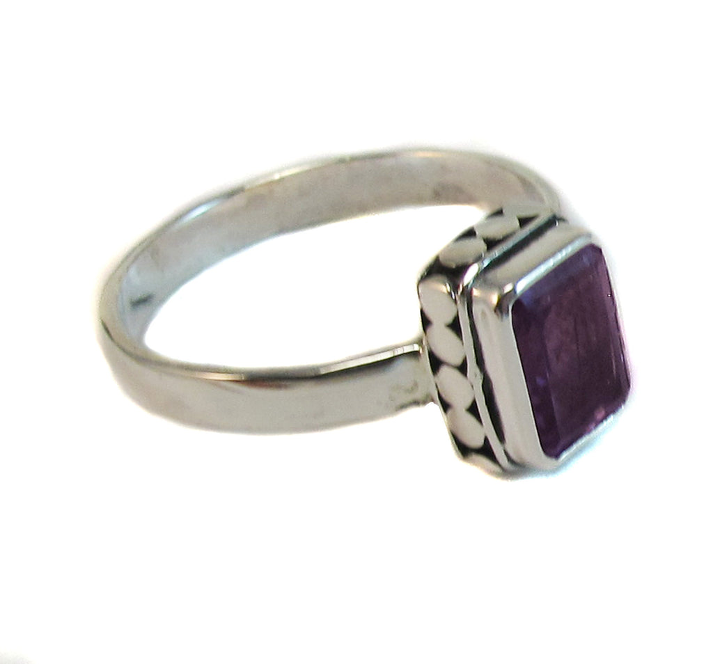 Sweet amethyst rectangle - Agabhumi