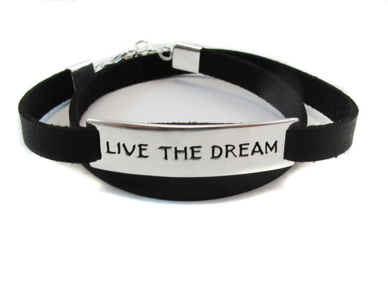 Live the dream bracelet - Agabhumi