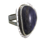 Charoite shapes ring - Agabhumi
