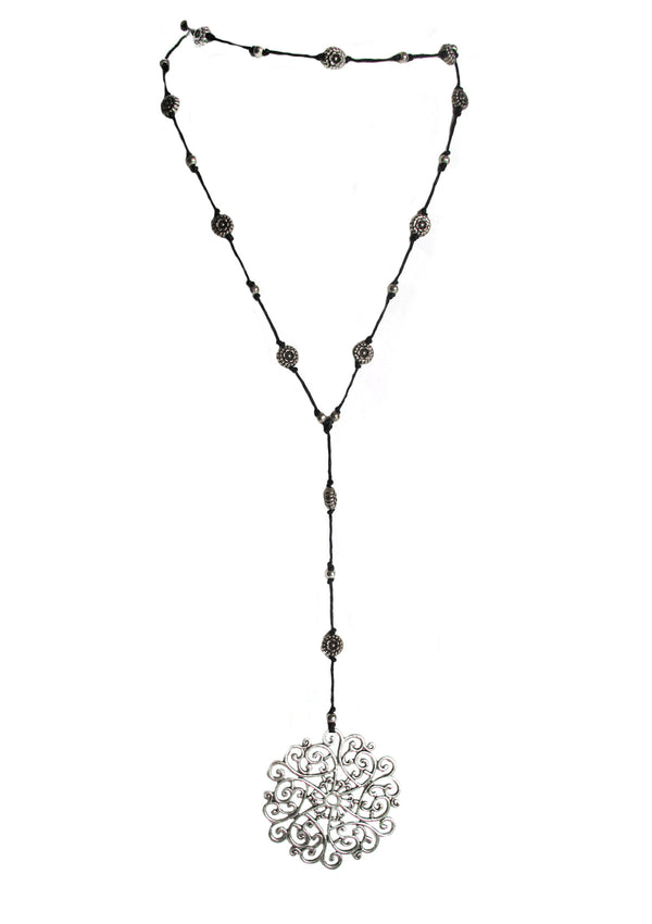 Snowflake necklace - Agabhumi