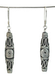 Totem pole earrings - Agabhumi