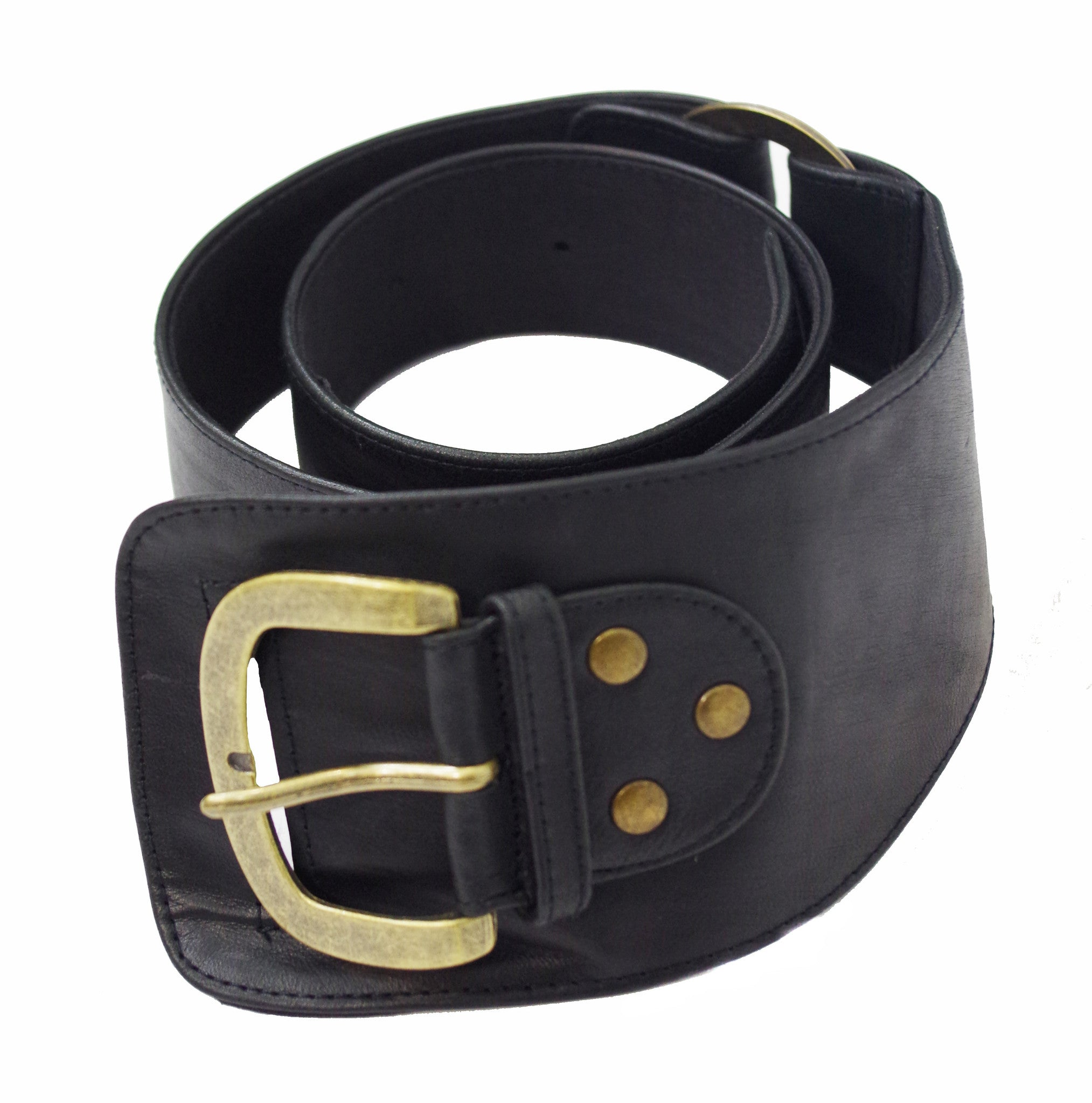 Grin & Belt it-Contoured leather belt - Agabhumi