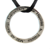 Happiness Mantra Pendant - Agabhumi