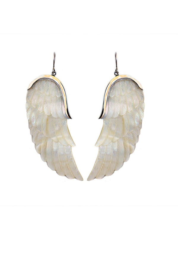 Angel wing earring - Agabhumi