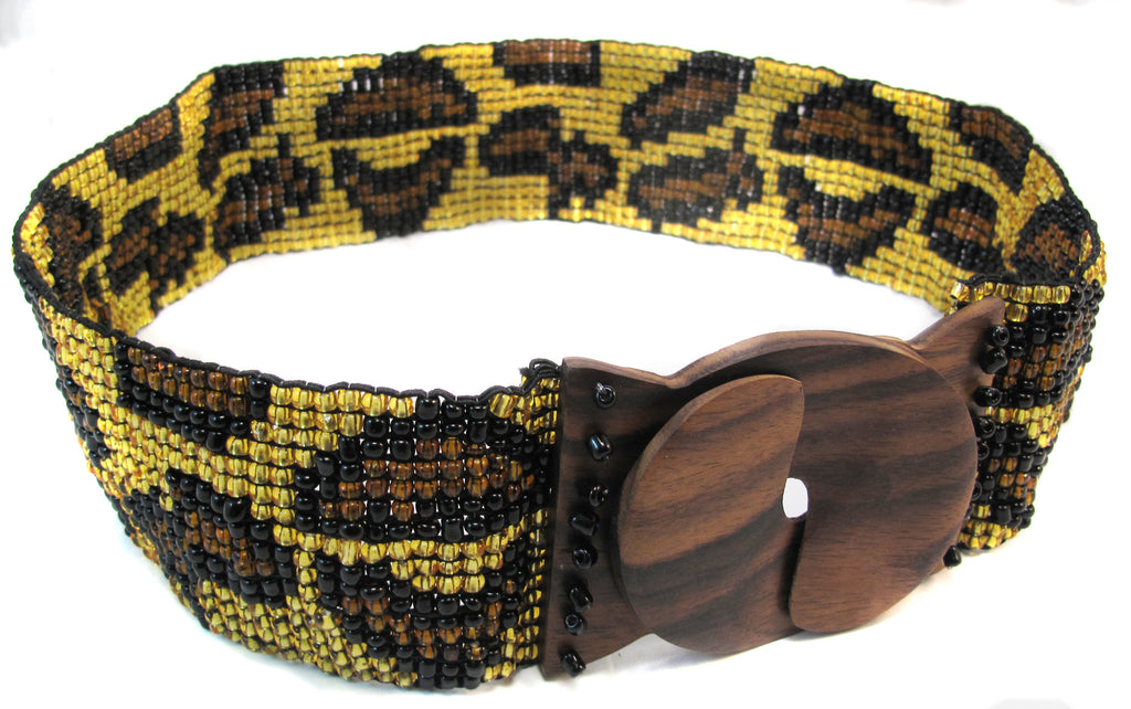 "Animal ""print"" beaded - Agabhumi"