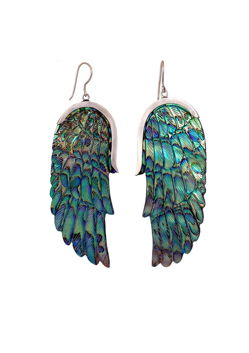 Paua Angel Wings
