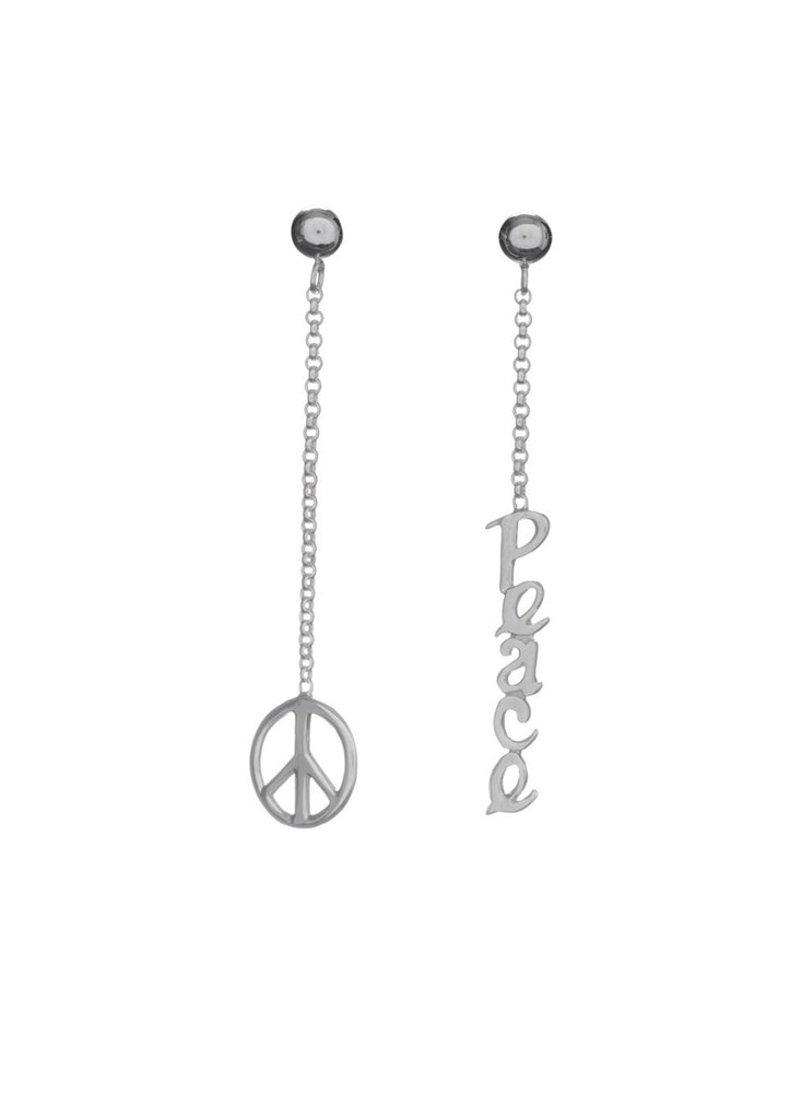 Missing Peace Stud Earring