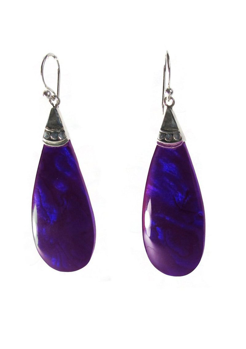 Long drop Purple resin - Agabhumi