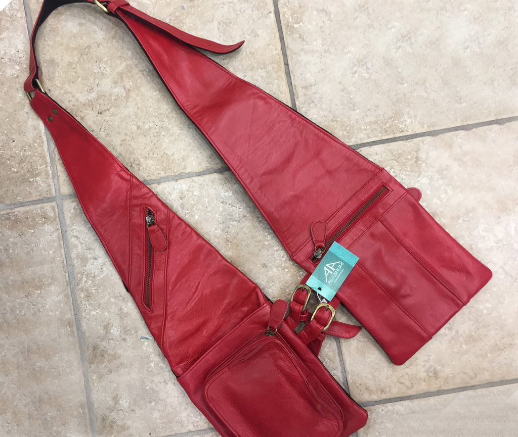 """Shoulder Shopper"" Red"