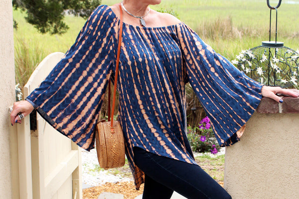 Ice Cold Shoulder Tunic - Agabhumi