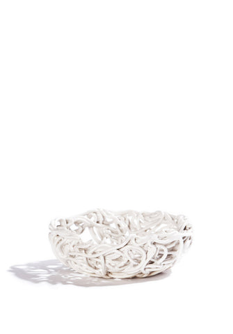 SMALL PORCELAIN CORD BOWL