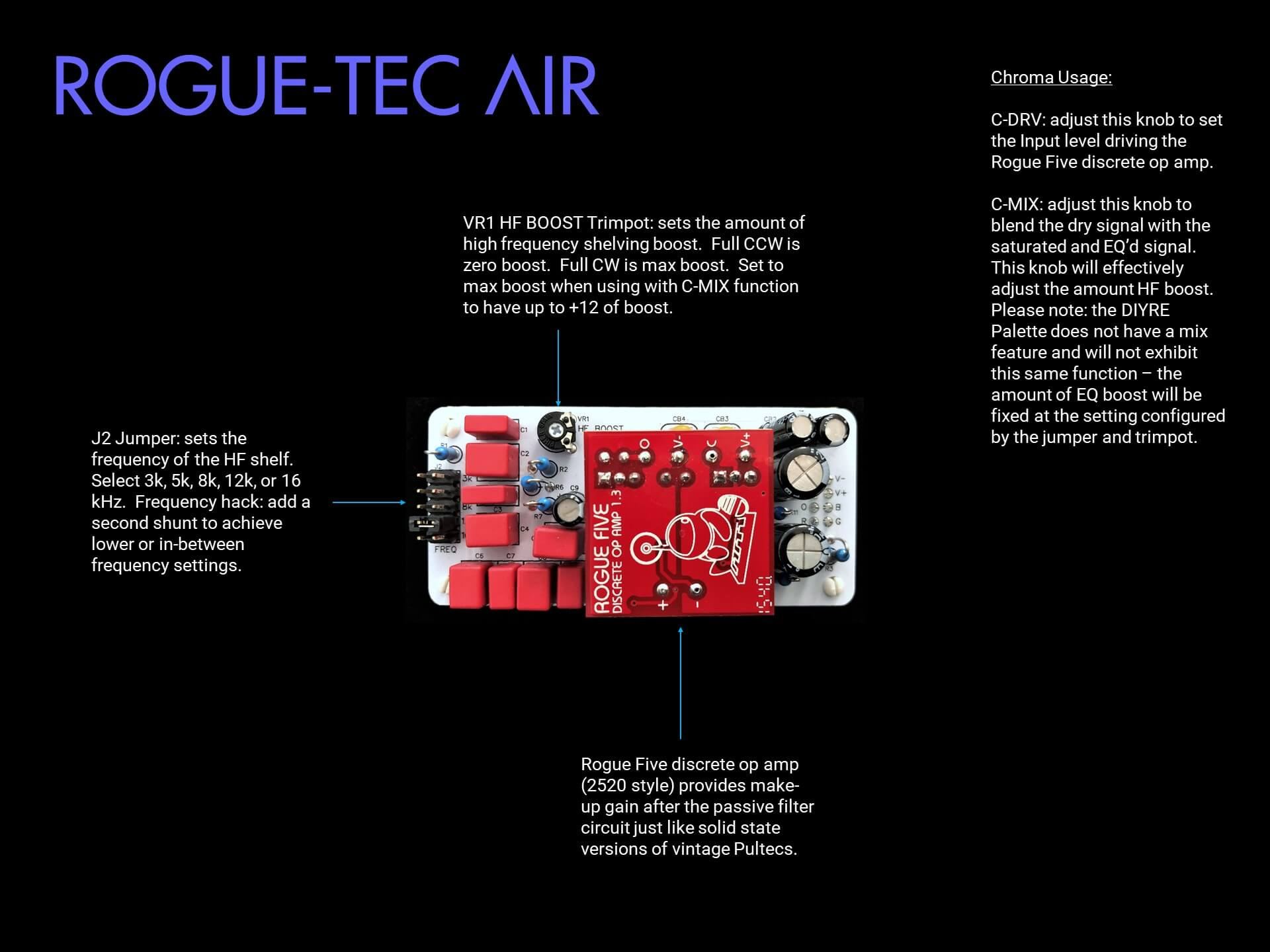 Rogue-Tec Air Manual