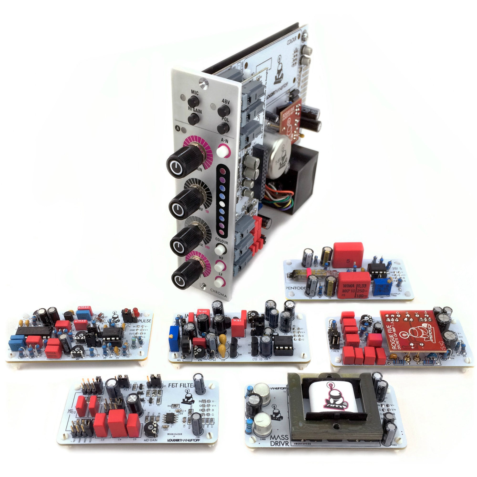 Types Of Printed Circuit Boards Pcb Universe Inc Chroma Twin Tone Amp With Colour Louder Than Liftoff Modules