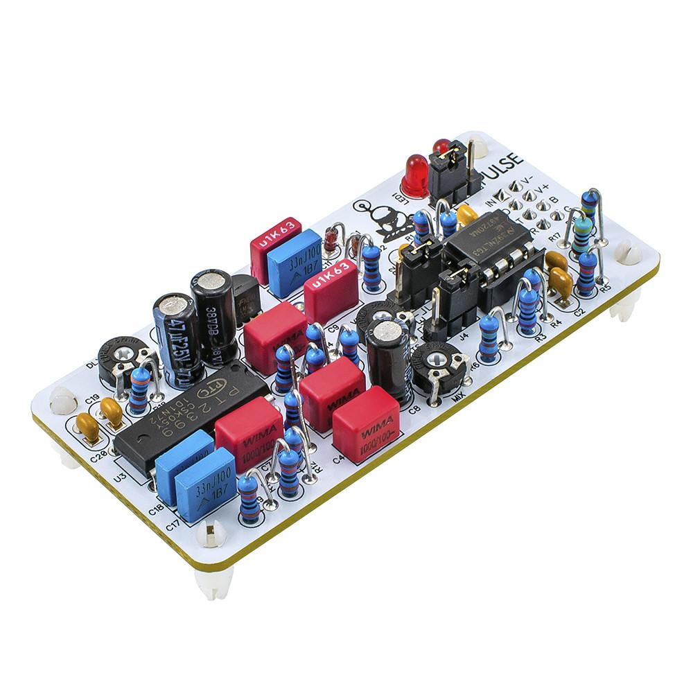 Pulse Colour Module Louder Than Liftoff Echo Effect With Ic Pt2399 Schematic