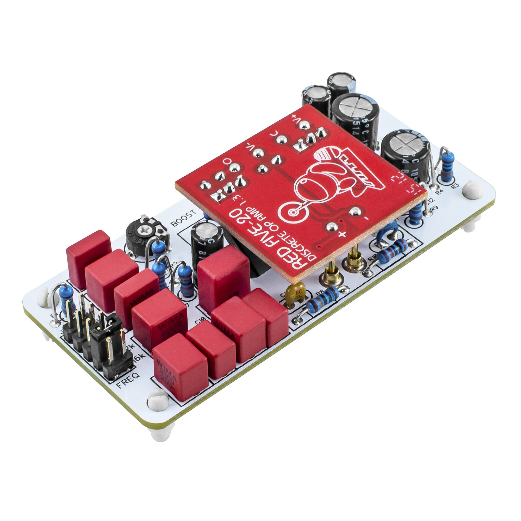 Rogue Tec Air Colour Module Louder Than Liftoff Family Op Amp Series Amplifier Type General Purpose Number Of Circuits