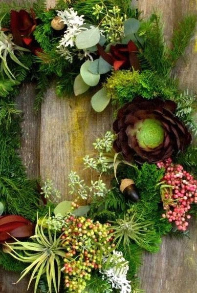 Autumn Wreaths with a Twist Workshop- Saturday, November 16th & Sunday, November 17th at 2pm