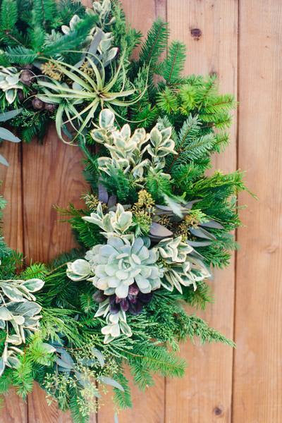 Holiday Wreaths with a Twist Workshop- Offered Multiple Dates