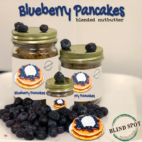 🥞Blueberry Pancakes - Blended Nutbutter