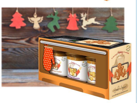 "Holiday Oven Box - ""Cookie Pack"" -Seasonal - Christmas"