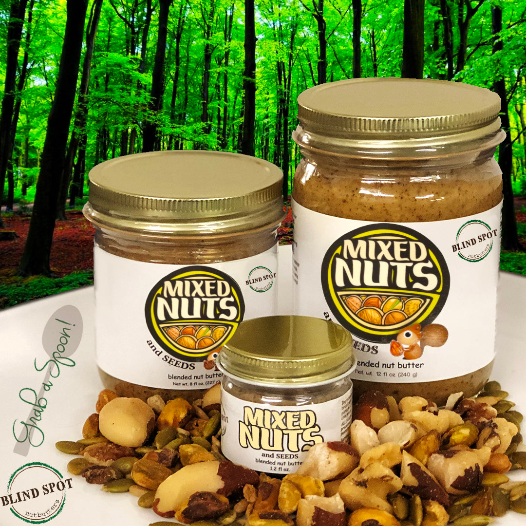 🐿Mixed Nuts & Seeds Nutbutter