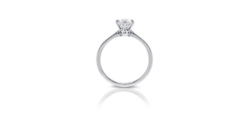 Solitaire Engagement Ring Budrevich Jewellery Studio London