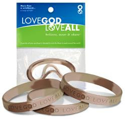 Desert Camo – 3 in 1 - Love God Love All wristband pack