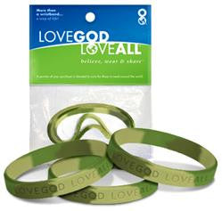 Field Camo – 3 in 1 - Love God Love All™ Wristband pack