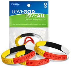All the children of the world – 3 in 1 - Love God Love All™ Wristband pack