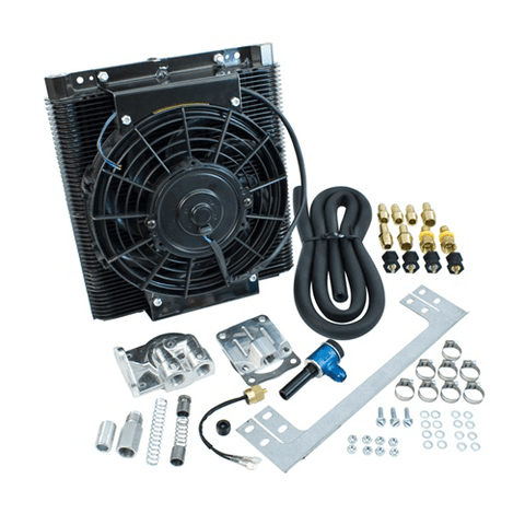 Bolt-On Oil Cooler Fan Kit, Each - AA Performance Products