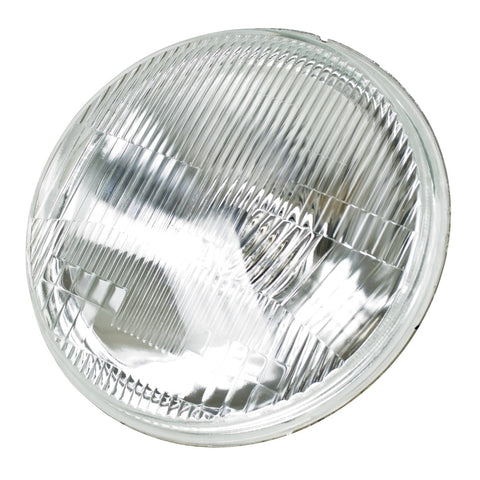 "7"" H4 Headlight - Round, Each"