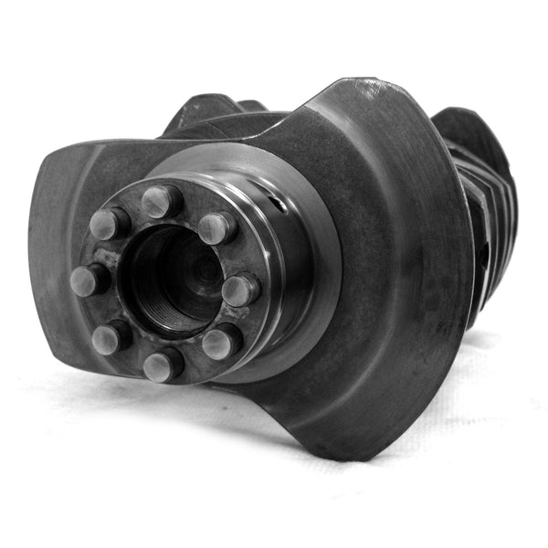 4340 Forged Counterweighted Crankshaft Chevy Journal