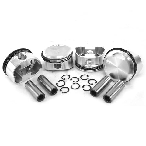 "83.5mm Porsche 356C/912 Big Bore JE Forged Pistons ""High Comp"" - AA Performance Products"