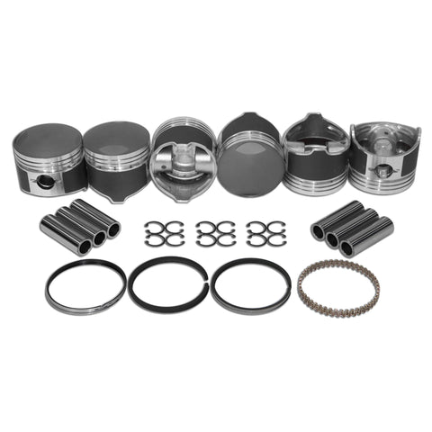 84mm Porsche 911 Low Comp Piston Kit - AA Performance Products
