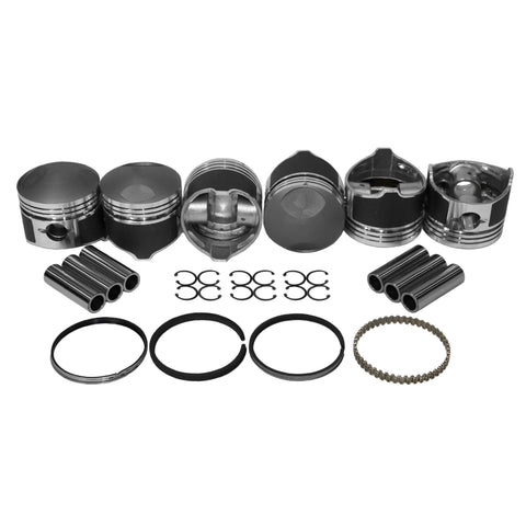 84mm Porsche 911 Hi Comp Piston Kit - AA Performance Products