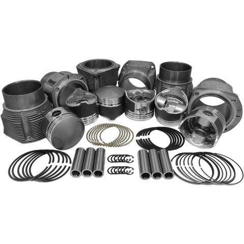 84mm Porsche 911 Hi Comp, Piston & Cylinder Kit - AA Performance Products