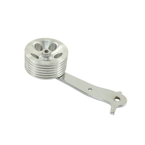 Roller Pedal, Billet Aluminum Roller - AA Performance Products