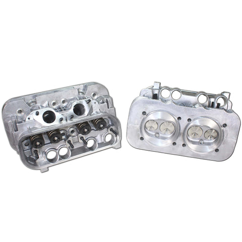 "Set of AA 2.0L Type 4 Aircooled Cylinder Head ""Round Port"""