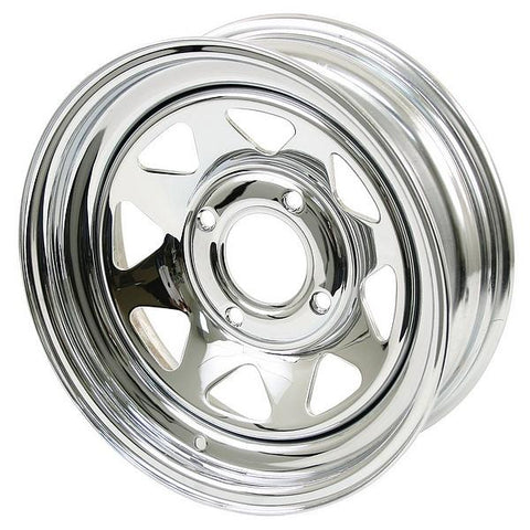 Chrome Spoke Steel Wheel (4 Lug & 5 Lug)