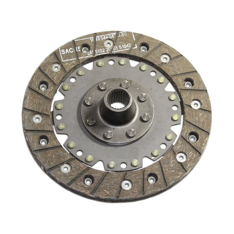 Sachs Clutch Disc STD Hub 180mm Early 66 & Down - AA Performance Products