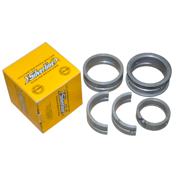 """Vw 1600 Connecting Rods: Silver Line Main Bearings For Type 1 2 & 3 """"Steel Backed"""