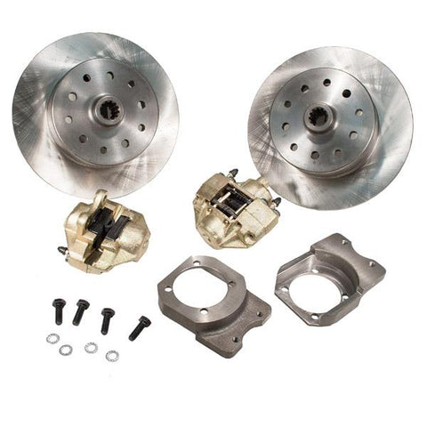 Disc Brake Kit, Rear, Non e-Brake, 5-Lug (Dual Pattern – Chevy/Ford – 5×4-3/4, 5×4-1/2) - AA Performance Products