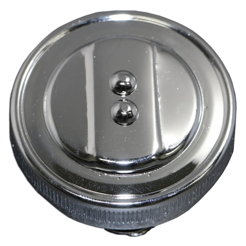 Chrome Stock Oil Cap - AA Performance Products  - 1