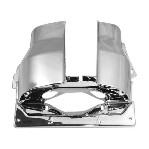 Chrome Cylinder Head Cover Dual Port  3-4 Side