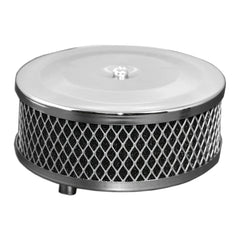 Chrome Air Cleaner w/ Foam Element Stock Carb