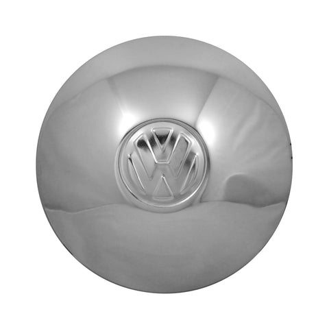 VW CHROME HUB CAP 46-65 WITH LOGO