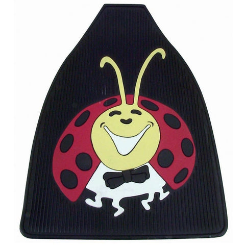 Lady Bug Floor Mats, Colored, Front, Pair