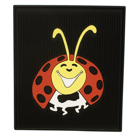 Lady Bug Floor Mats, Colored, Rear, Pair