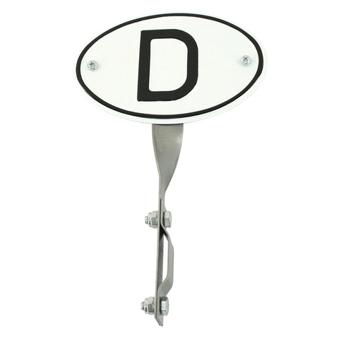 """D"" Origin Plate w/Bracket - AA Performance Products"