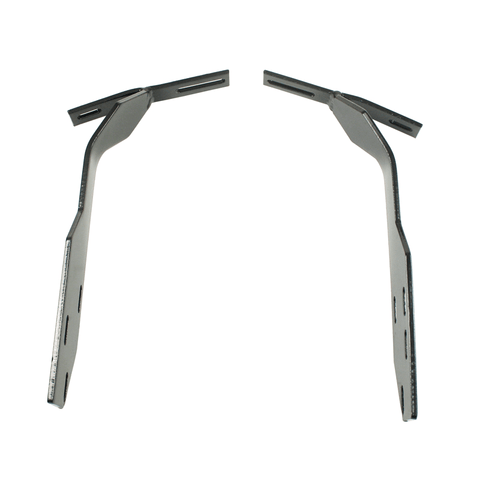 Brackets,Type 1, 68-73, to Early Bumper, Front, Pair